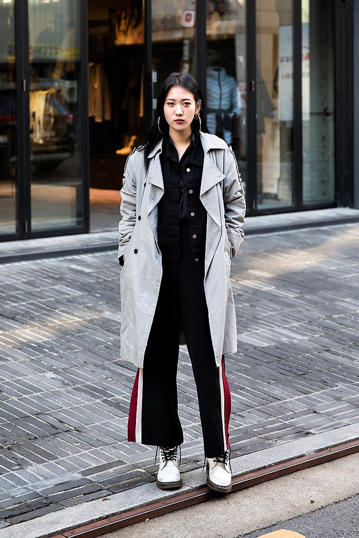 Lee Jieon, Street style women winter 2017 inseoul