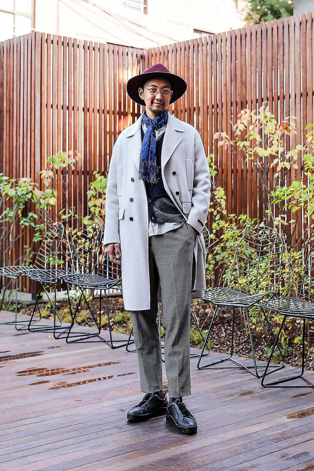 Lee Soomin, Street style men winter 2017 inseoul