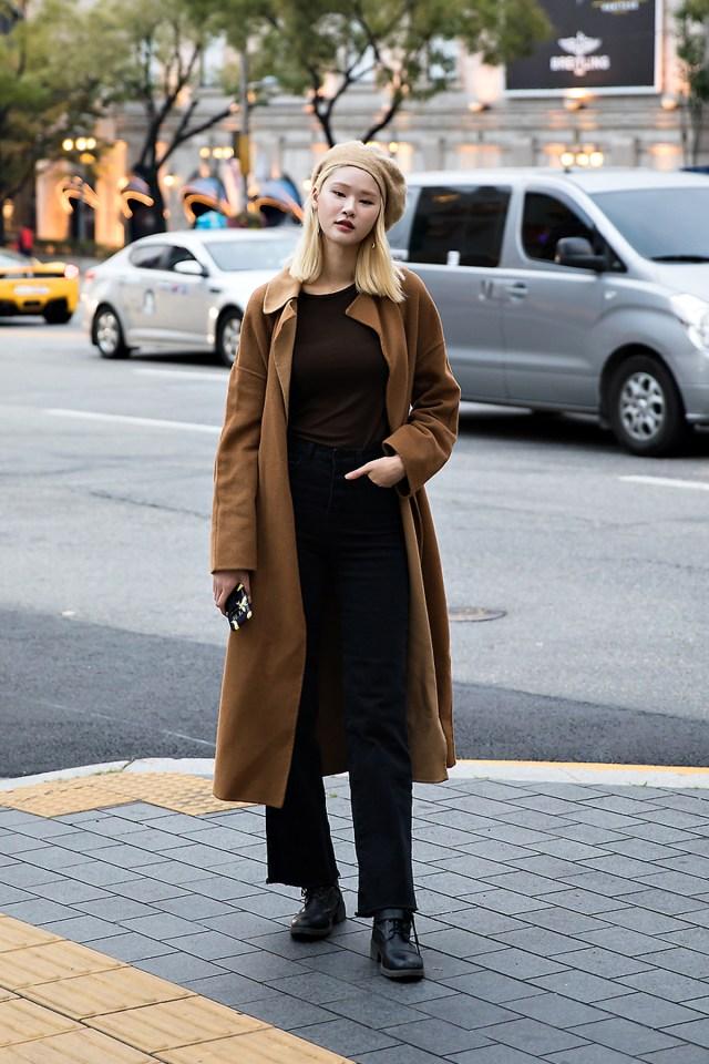 Lee Yujin, Street style women fall 2017 inseoul