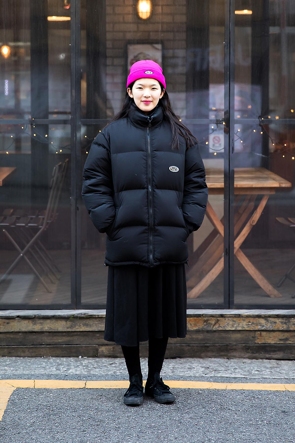 Lee Yujin, Street style women winter 2017 inseoul