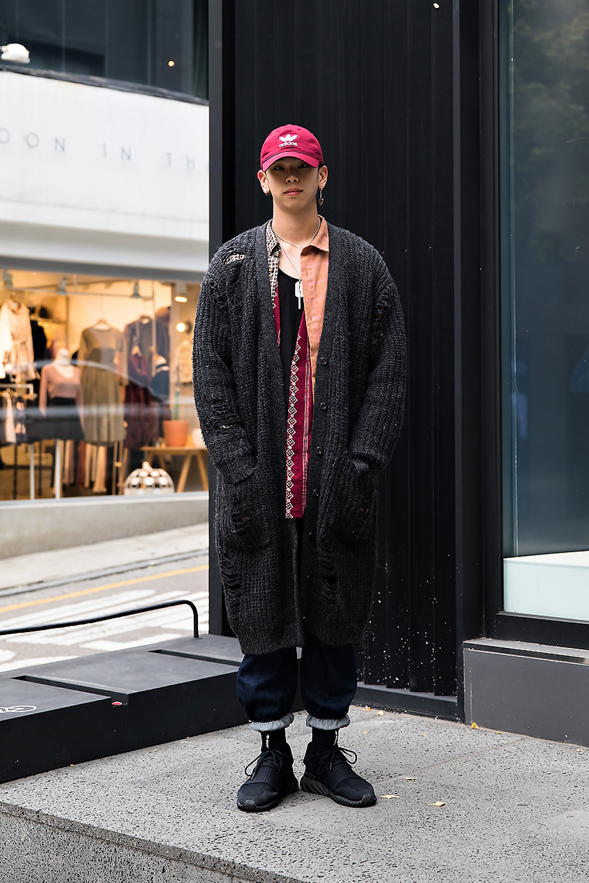 Moon Sunkyu, Street style men winter 2017 inseoul
