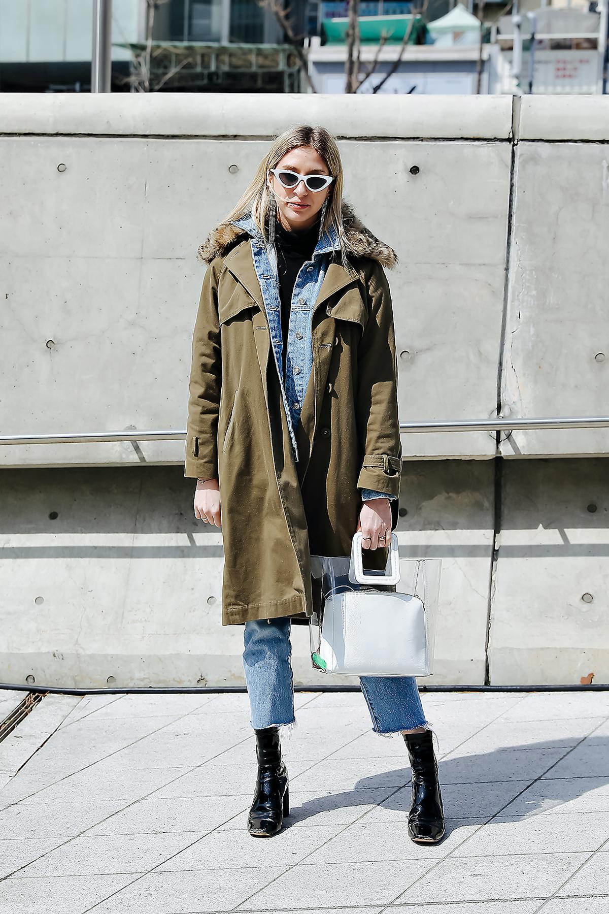 Flo Campbell, SEOUL FASHION WEEK STREETWEAR WOMENS 2018FW