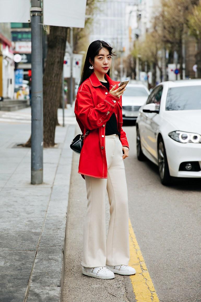 Ha Yiok, Street style women spring 2018 in seoul