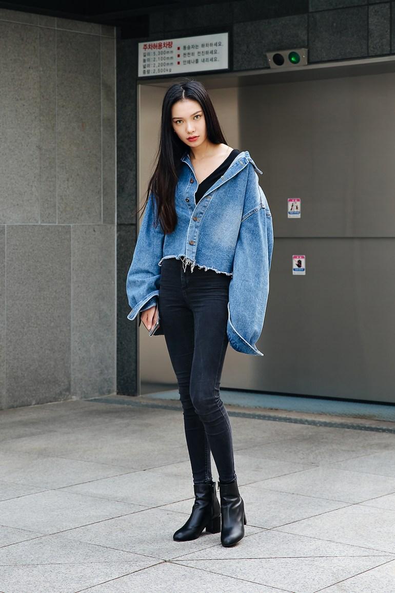 Han Seul, Street style women spring 2018 in seoul