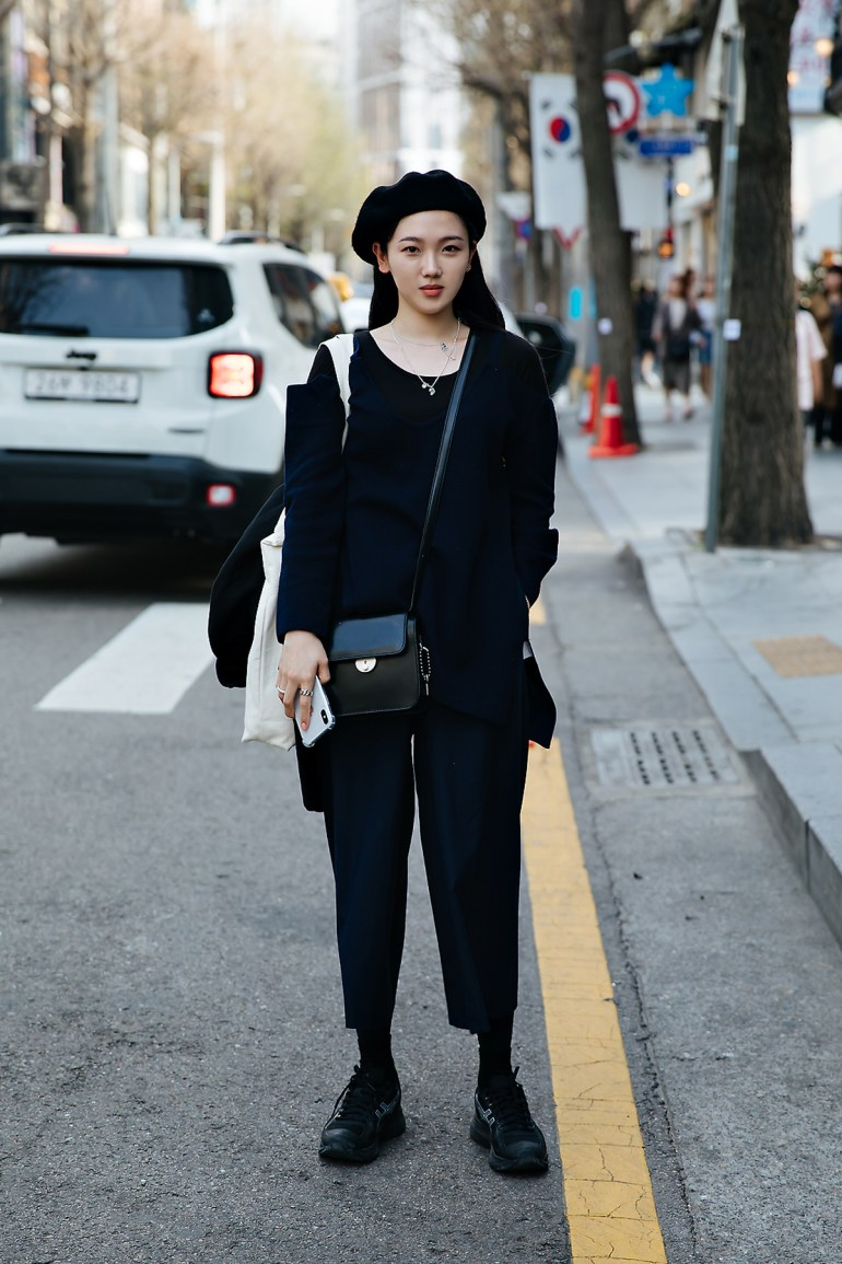 Hong Chaerin, Street style women spring 2018 in seoul