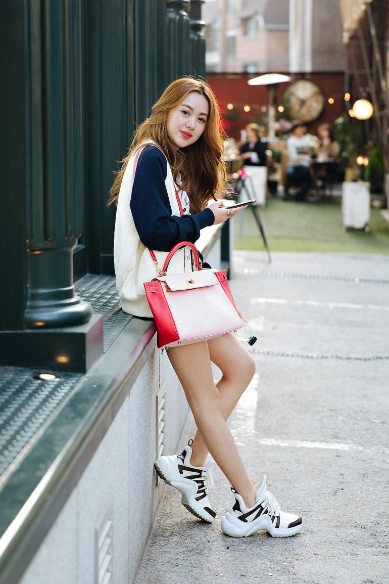 Hushuci, Street style women spring 2018 in seoul