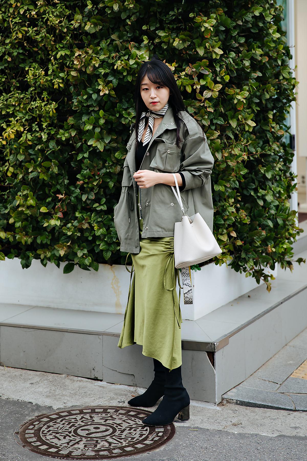 Hwang Mina, Street style women spring 2018 in seoul