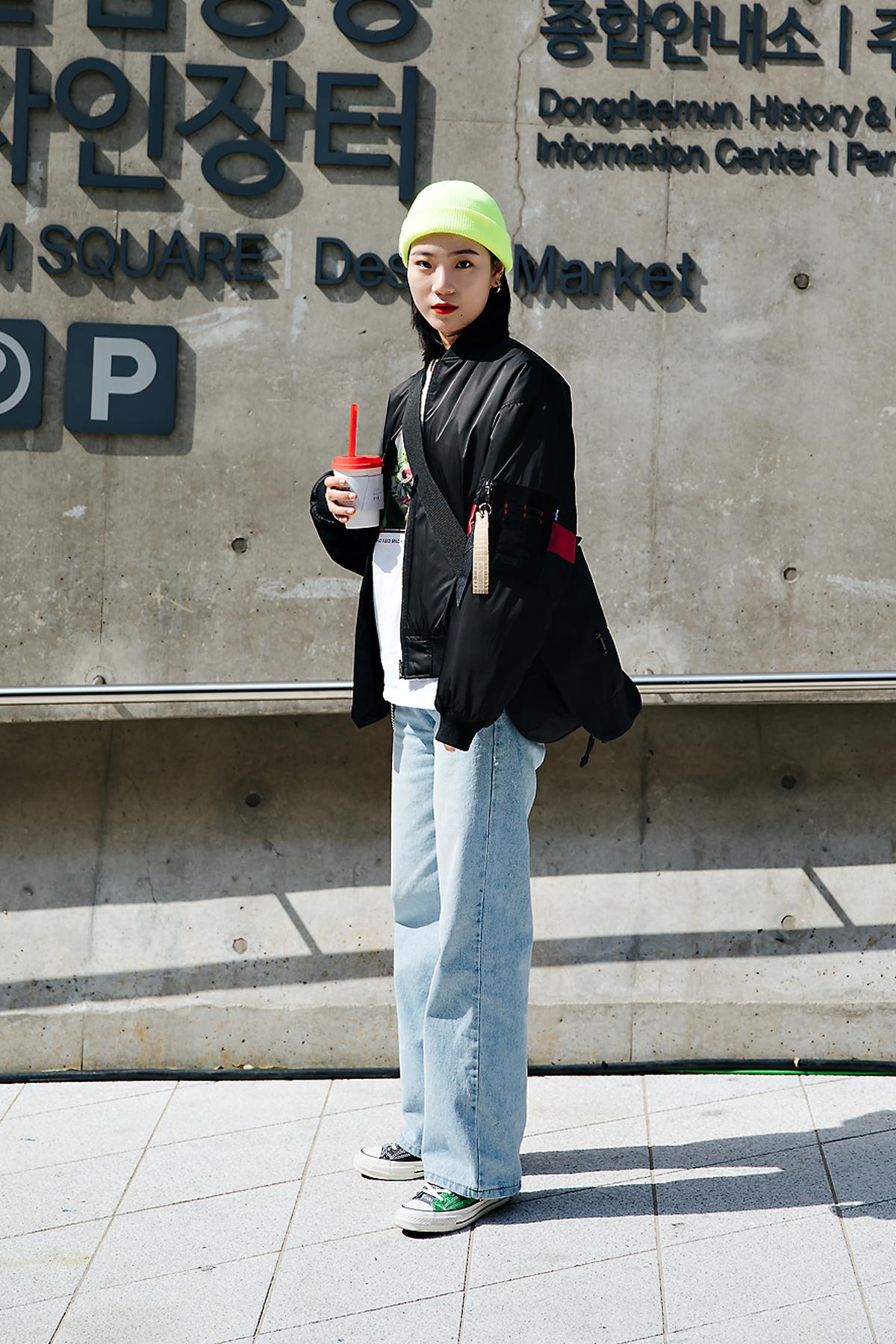 Kim Heejin, SEOUL FASHION WEEK STREETWEAR WOMENS 2018FW