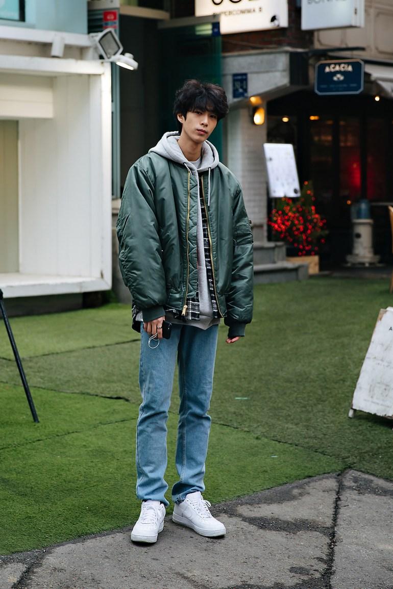 Kim Junyoung, Street style men winter 2017-2018 inseoul