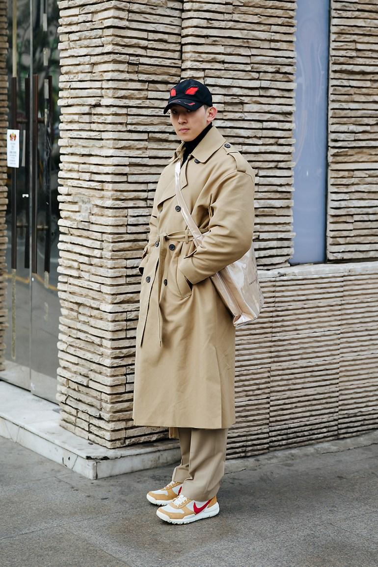 Kwon Hyukeun, Street style men winter 2017-2018 inseoul
