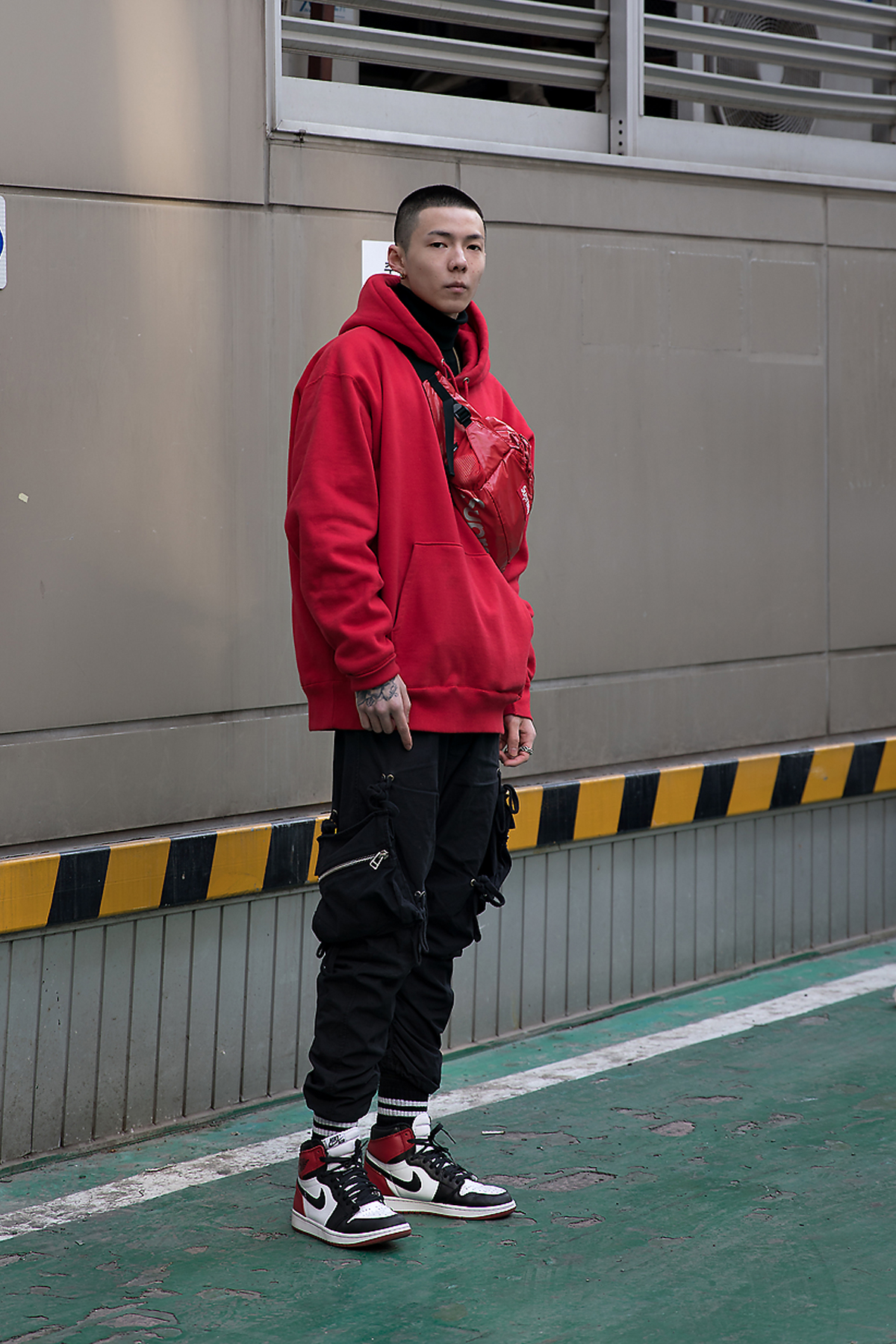 Leslie, Street style men winter 2017-2018 inseoul