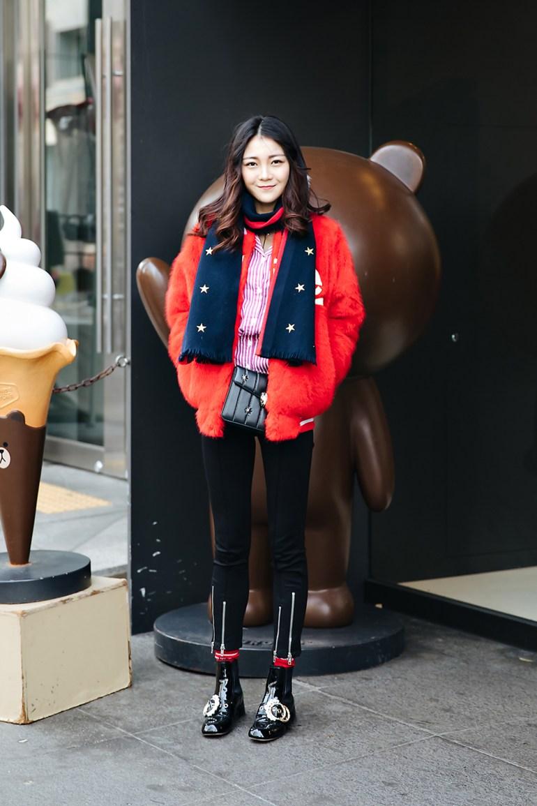 Neko, Street style women winter 2017-2018 inseoul