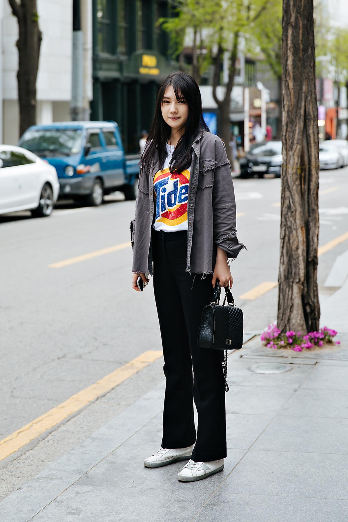 Park Jinhee, Street style women spring 2018 in seoul