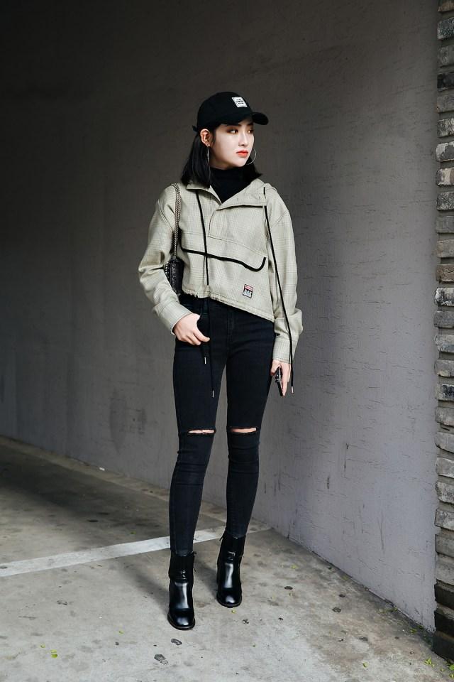 Qi miao, Street style women spring 2018 in seoul