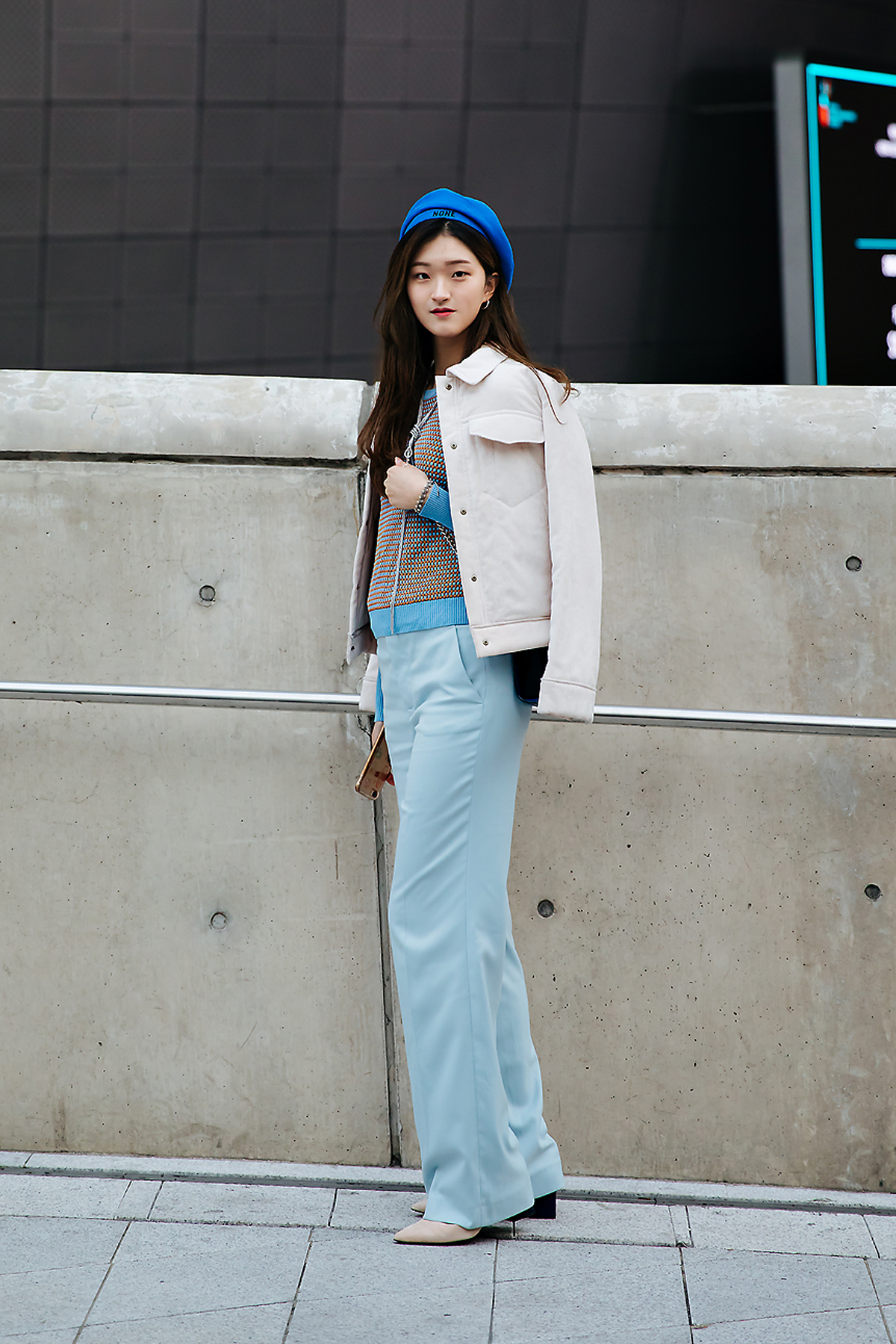 Shin Hyeji, SEOUL FASHION WEEK STREETWEAR WOMENS 2018FW