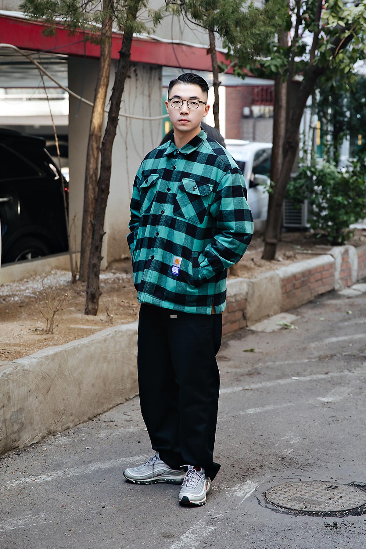 WANZ ZHENG, Street style men winter 2017-2018 inseoul
