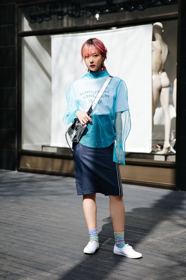 Yoon Chaerim, Street style women spring 2018 in seoul