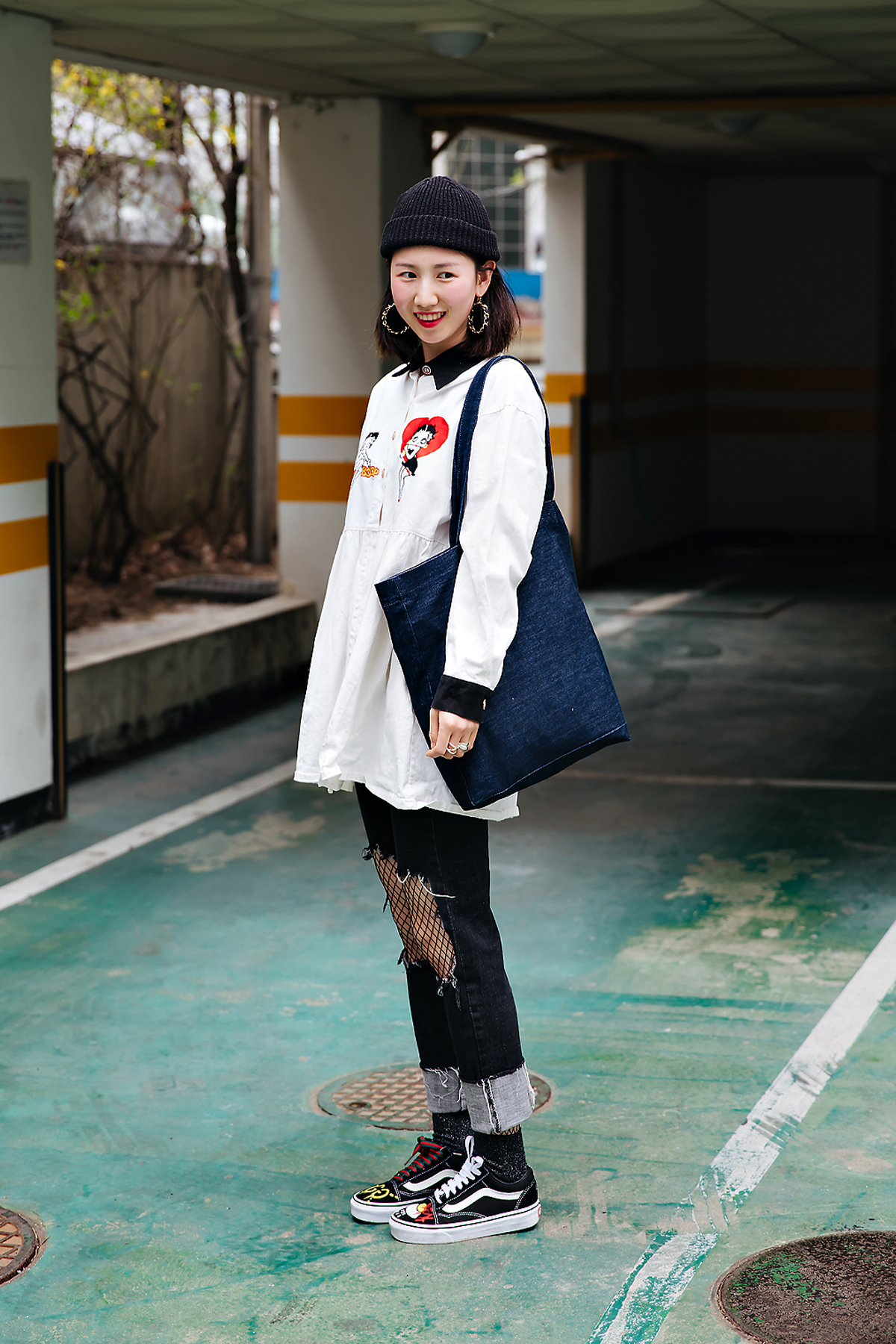 Yoon Seulki, Street style women spring 2018 in seoul