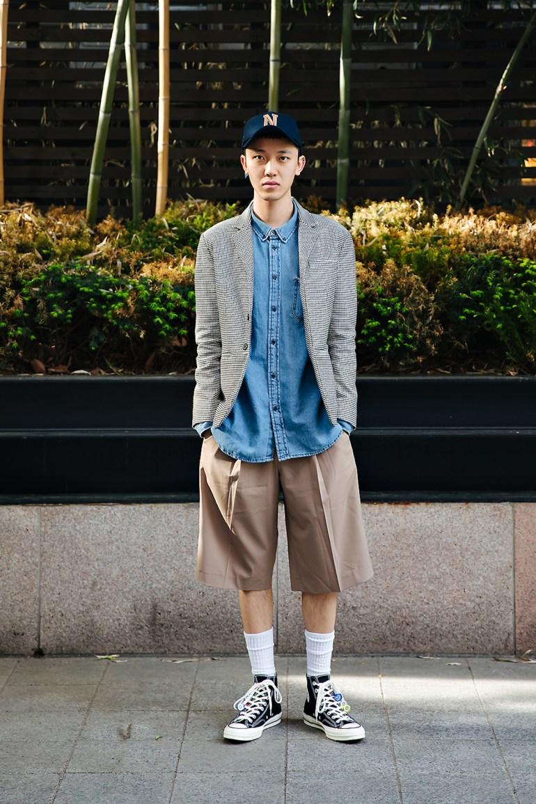 Kim Youngman, Street style men spring 2018 inseoul