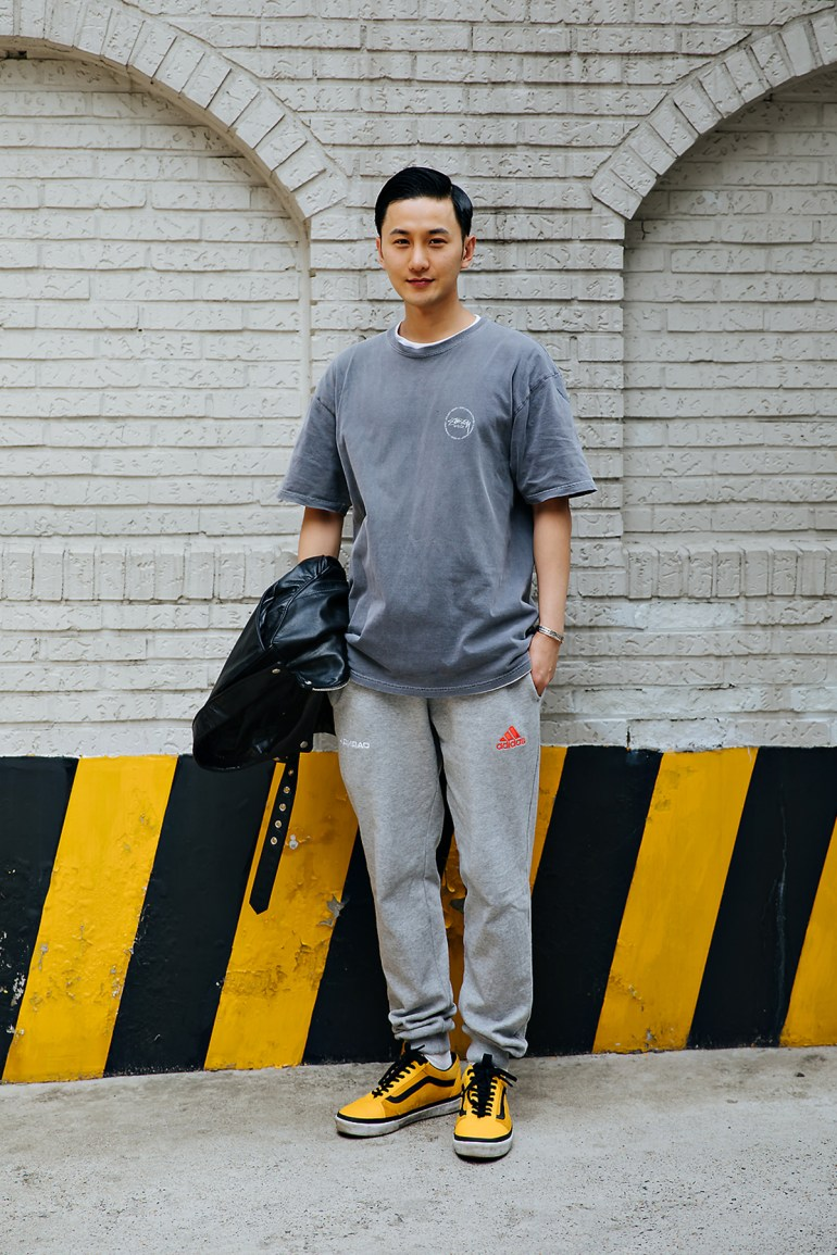 Lee Dokyung, Street style men spring 2018 inseoul