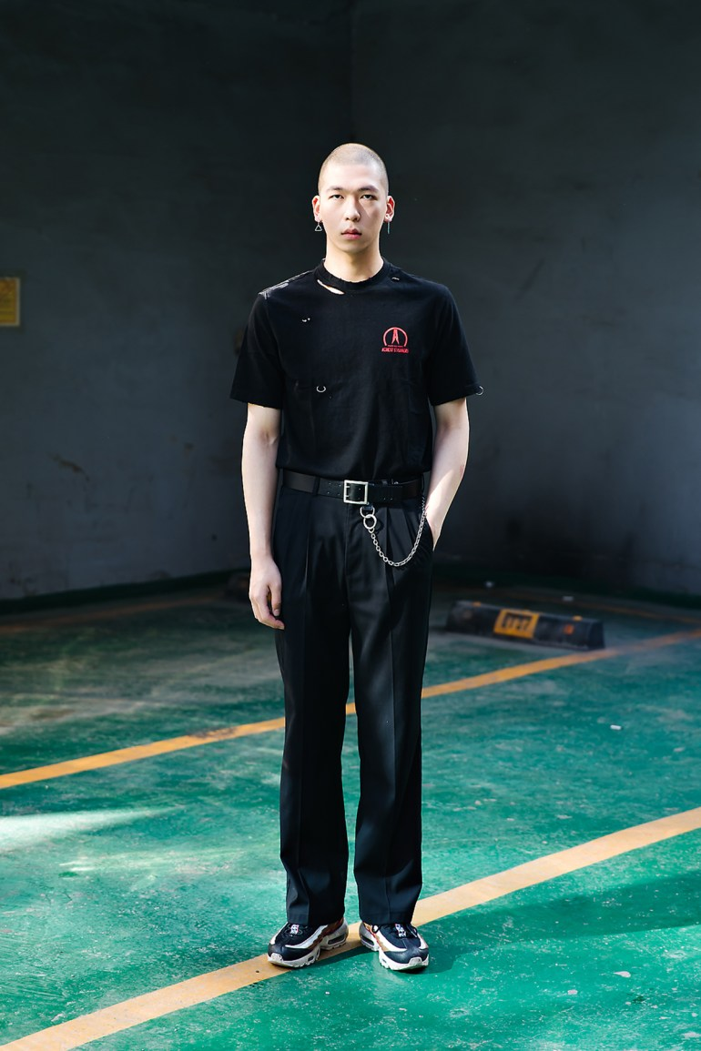 Lee Jaeyong, Street style men spring 2018 inseoul