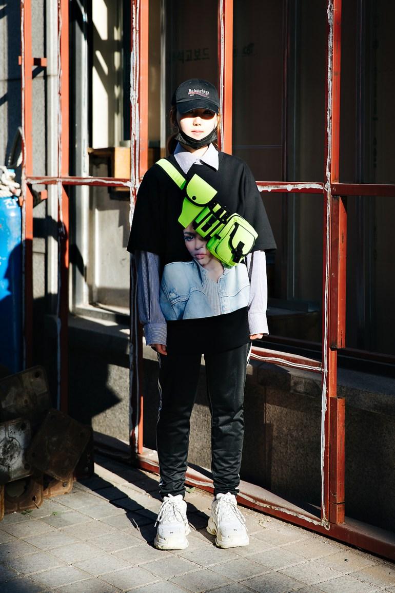 Min Jihyun, Street style women spring 2018 in seoul