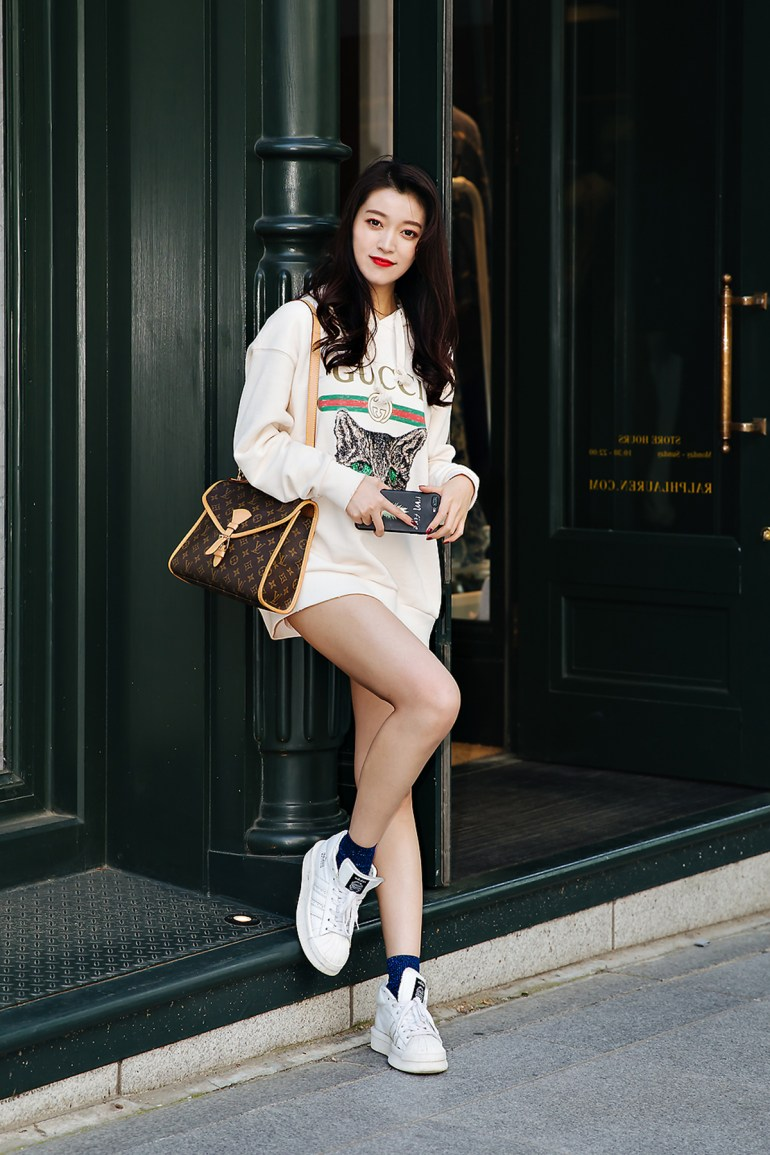 Oh Hamkyung, Street style women spring 2018 in seoul