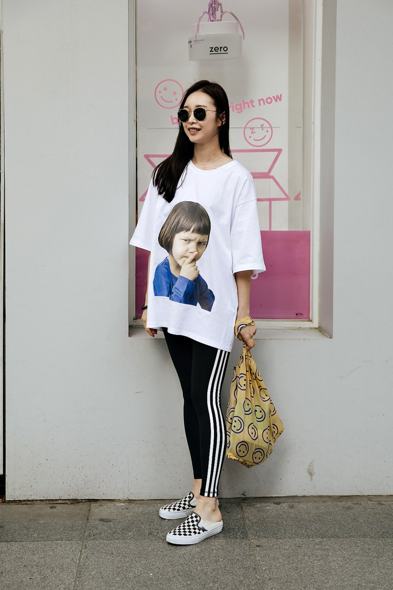 Son Jieun, Street style women spring 2018 in seoul