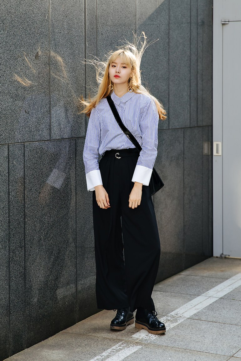 Woo Junga, Street style women spring 2018 in seoul