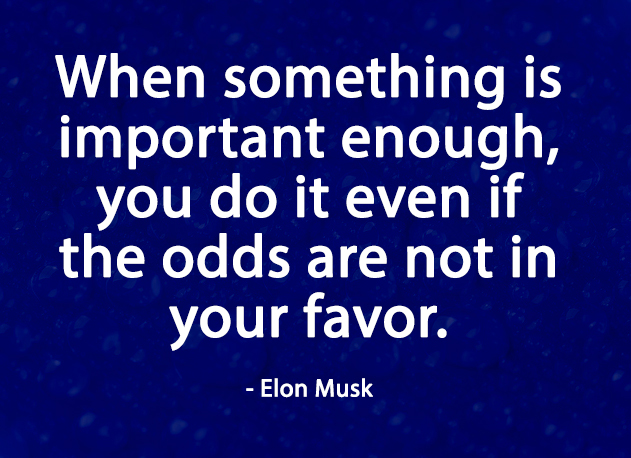 Motivational quotes by Elon Musk
