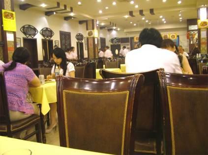 Chińska restauracja w Pekinie