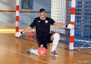 Mikail Gultekin, gardien du FC Picasso Echirolles