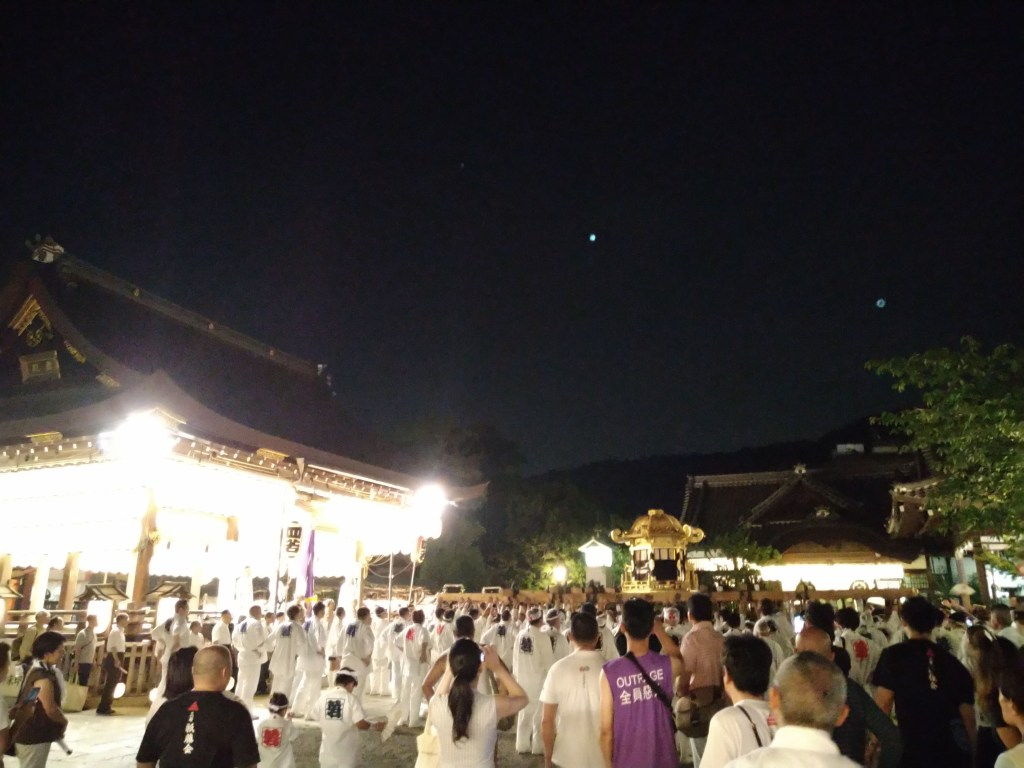 八坂神社 神輿