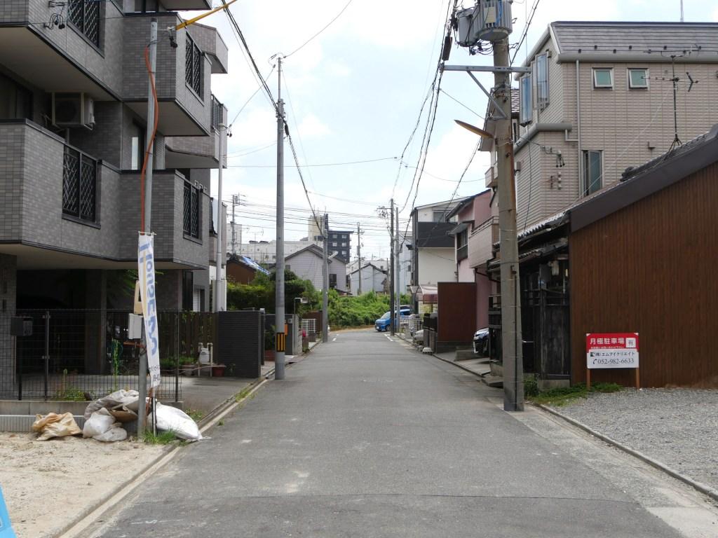 名古屋市桜本町前面道路