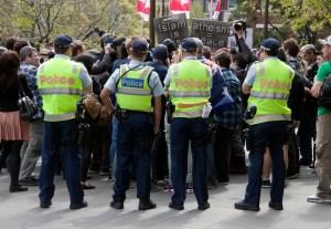 Protest in Australia