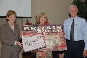 Britain bound
