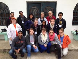 The Medical Missions Team in Monclava, Mexico Photo provided by Sidney Ketchum