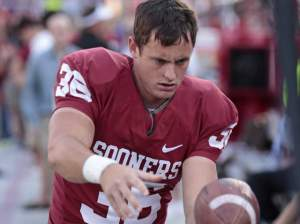 Tress Way, former punter for OU Photo used under Creative Commons License