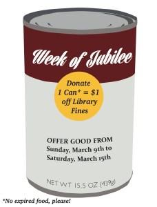 Week of Jubilee Graphic created by Hannah Bean