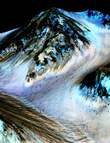 Flowing Water Found on Mars