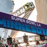 2018 Super Bowl LII Minnesota Banner