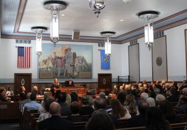 April Collins, SNU Alum, Sworn In as Judge