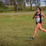 Nancy Jurado running cross country