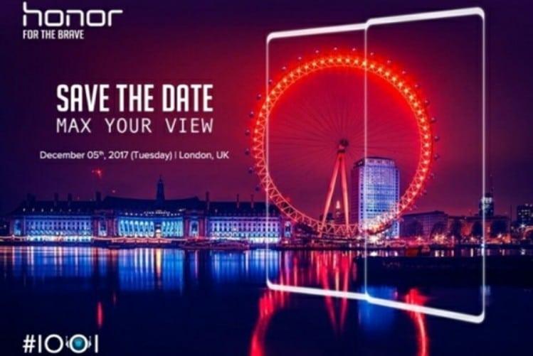 Honor V10 deverá ser apresentado no dia 5 de dezembro