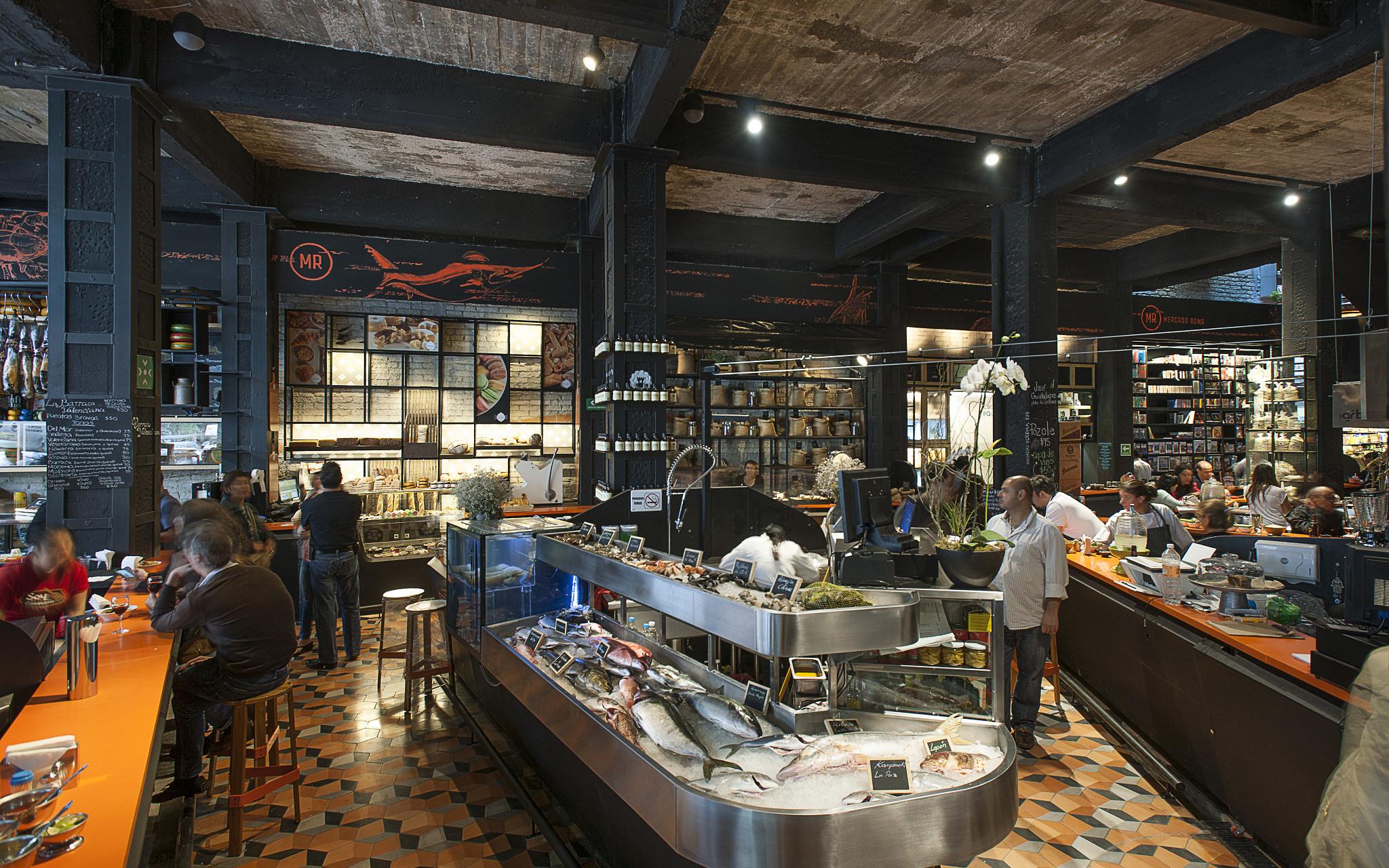 Mercado Roma Mexico City Mexico Echochamber