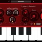 iceGear InstrumentsからiPhone用ポリフォニック・サブトラクティブ・シンセサイザー「Redshrike Synthesizer」がリリース
