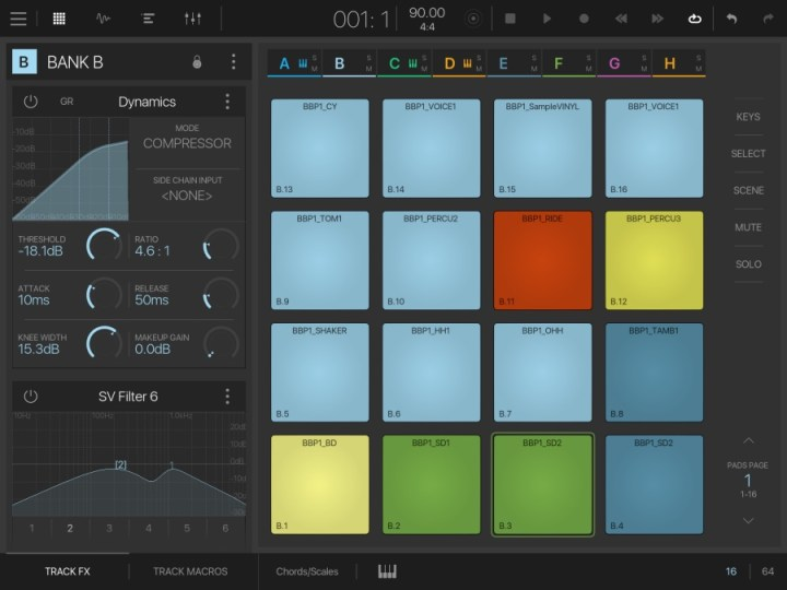 BeatMaker3 - Pad& Effects
