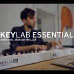 Arturia、MIDIキーボードコントローラーの新シリーズ「KeyLab Essential」を発表。パフォーマンスムービも!