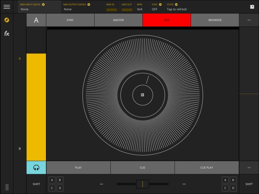DJソフトウェア「Traktor」をiPhone・iPad / Androidでコントロールできるアプリ「TKFX - Traktor Controller」