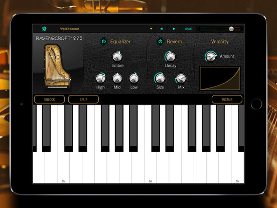 UVI - Ravenscroft 275 Piano (iPad)